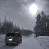 【スキー】極寒の北海道ー11(まっかり温泉/雪道ドライブ/洗車)