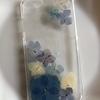 紫陽花のスマホケース(試作品)