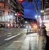 京都:三条の夜明け前(^^♪
