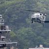 2019年5月28日(火) トランプ大統領来日 いわゆるマリーンワンを横須賀まで見に行った話 VH-60N プレジデントホーク 海上自衛隊 護衛艦「かが」
