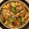 鶏と焼きねぎ鍋