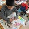 3年生:図工 クリスタルファンタジー