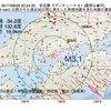 2017年08月29日 22時24分 安芸灘でM3.1の地震