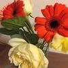 形から入る幸せ。妻に花を買った