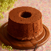 ラムレーズンチョコシフォンケーキ