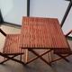ベランダ用テーブルとイスセットをフリマに出してみました