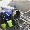 サウスウエスト航空機の左エンジンが損傷して客室の窓を割る!乗客の1人が機外に吸い出されそうになり、死亡する地獄絵図に!!