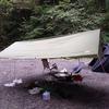 【ローコストキャンプ】中華製タープをいろいろ張ってみた⇒風よけにもテントにもなる超有能
