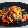 7冊目『コウケンテツの韓国料理1・2・3』より豚肉と野菜のプルコギ