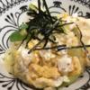 Oisixおためし野菜で作ってみた(6)ねぎマドンナと豆腐の卵とじ