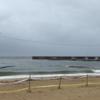スマハマ 夏の浜のある海を見に行ったが、まるで秋の海「今はもう秋、誰もいない海・・・」? 20210814