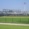 今日は晴天で丸亀市民球場へ初めて行ってみました