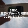 【週記】夏至に向かった1週間 2020/6/15-21