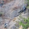 岩と仲良くなった両神山(八丁尾根ルート)
