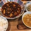 麻婆豆腐は汗かきながら食べるのが一番