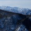 久々の医王山(白兀山):山頂からは白山、北アルプスの眺望