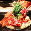 創作お好み焼き『京ちゃばな』是非食べてほしい、とろ~りトマトのお好み焼き!
