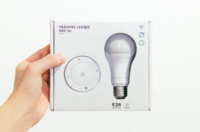 【リモコン調光LED電球】IKEAの3000円TRÅDFRIを買ってみた