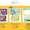 3DSテーマショップ更新!SHOW BY ROCK!!のアニメOP&EDテーマ登場!初音ミクにくにおくん、プチコン3号も!