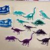 恐竜バッチ新色試作