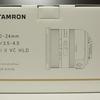 TAMRON 10-24mm F/3.5-4.5 Di II VC HLD を購入しました。