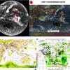 【台風情報】台風24号の東・南東側には3つのまとまった雲が存在!今後台風の卵である熱帯低気圧を経て台風25号・台風26号・台風27号と連続発生して日本に接近!?気象庁・米軍・ヨーロッパ・NOAAの進路予想は?