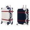 ジッパートランクケース キャリーバッグ レトロ 機内持込可 手作り 超軽量 S M L XL サイズ TSAロック | Urecity