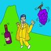 ヌキノート:石垣で作られたブドウ園の独自の景観。【世界遺産『ピコ島のブドウ園の景観 〜 石垣8000km!大西洋の火山島』】天貫勇