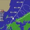 台風12号は熱帯低気圧に
