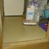 洗面所の床修理