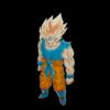 悟空の一番好きなシーンを描いてみた。 My most favorite favorite scene of Goku.(色付けしました/Colored)