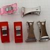 手芸の便利道具 2 バチ型クリップとホチキス