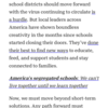 やや長い文, 疑問詞節, 付帯状況のwith, 【ボキャビル】「~に関する」の意味を表すon (新型コロナウイルスと学校というシステム)