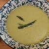旬のアスパラでスープとパンの穴はなぜ良いのか?
