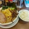 大和「うまいヨゆうちゃんラーメン」でネギラーメンライス。濃厚な豚骨スープは県内随一レベル!。いつかラーメンチャーハンに挑戦したいなぁ…
