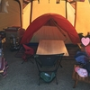 メッシュシェルターにカペラIN☆カンガルースタイルで寒い時期でも快眠あったかキャンプ!