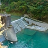 祖谷川本流取水ダム(徳島県三好)