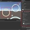 Osaka HoloLens Hackathon Online 2021 チームビルド 6日目 オリジナルUIのテキスト、アイコンをMRTKに合わせる