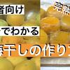 【初心者向け】梅干しの作り方 How to make pickled Japanese Ume