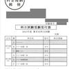 2021年度第Ⅱ回科目試験受験受付票【慶應通信】
