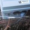 ひょうたん池へのエアー供給★⑧ 電源コンセントを収納~雨対策 & オーバーフロー対策