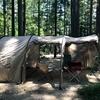 【カマボコテント レビュー】2ルーム型トンネルテントのメリット/デメリット
