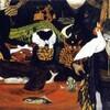 日本画廊で見られる山下菊二「あけぼの村物語」