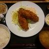 小田保でアジフライ定食