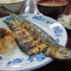 木更津  市場食堂  さんま開き焼定食