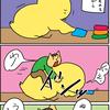 【子育て漫画】柔軟中に幼児に求められる牛