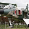 航空自衛隊 三菱F-1の展示機