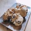 朝ご飯:チョコレートマシュマロスコーン☆家族で作れる朝食と気の利かない旦那様への愚痴