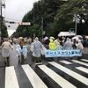 2017 小平市民まつり 雨のパレード