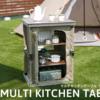 DOD マルチキッチンツール|キャンプサイトをすっきりオシャレに整頓!